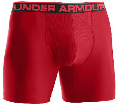 Under Armour 1230364 Men�s Original 6 inch Boxerjock Boxer Briefs