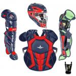 All Star S7 Axis Senior System Seven NOCSAE Approved Catcher's Kit - Two Tone