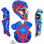 All Star S7 Axis Adult System Seven NOCSAE Approved Catcher's Kit - Two Tone