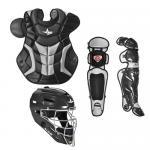 All Star Catchers Gear CKPRO1 Adult System Seven Catcher's Kit