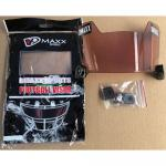 Dmaxx Football Eyeshields - Red