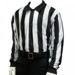 Smitty Football Officials 2 inch Stripe Hybrid Cold Weather Shirt