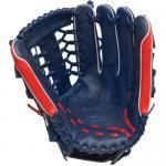 Mizuno GMVP1277PSE2 MVP Prime Glove - Navy/Red - 12 3/4 inch