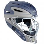 All-Star MVP2500 System 7 Catcher's Two Tone Head Gear - Matte