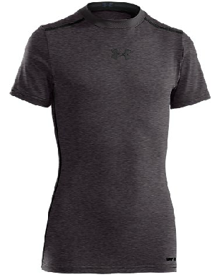 Under Armour 1236087 Boy's HeatGear Sonic Fitted Shortsleeve