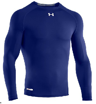 Under Armour 1236223 Men's HeatGear Sonic Compression Longsleeve